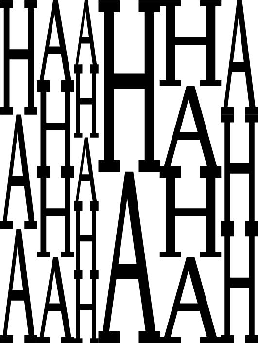 www.hahhahhhahhhah.com by Studio Harris Blondman, http://www.harrisblondman.nl/
